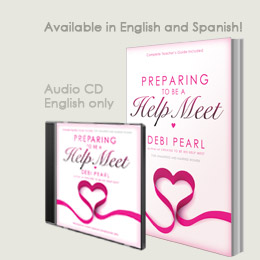 Preparing To Be A Help Meet - book and audio