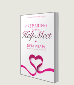 Preparing To Be A Help Meet - book cover