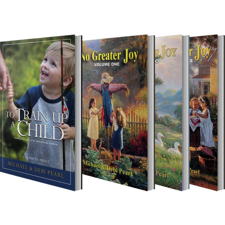 Set of Four Books