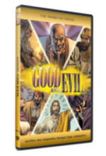 Good and Evil Graphic Novel illustrated Bible story color comic book