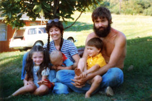 Pearl family in 1979