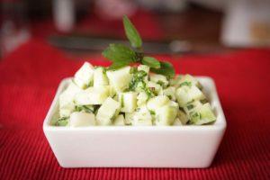 Kohlrabi Salad